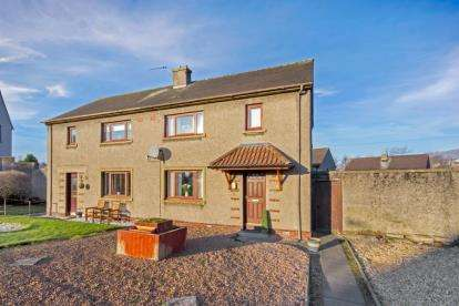 2 Bedrooms Semi Detached House for sale in Keilarsbrae, Sauchie