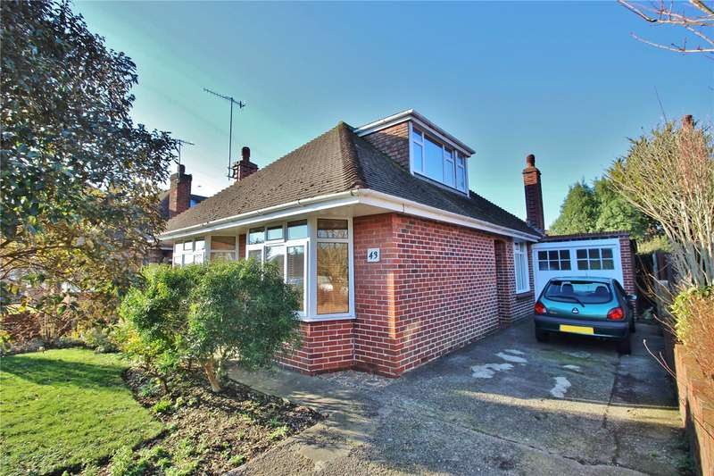 3 Bedrooms Detached Bungalow for sale in Alfriston Road, Broadwater, Worthing, BN14