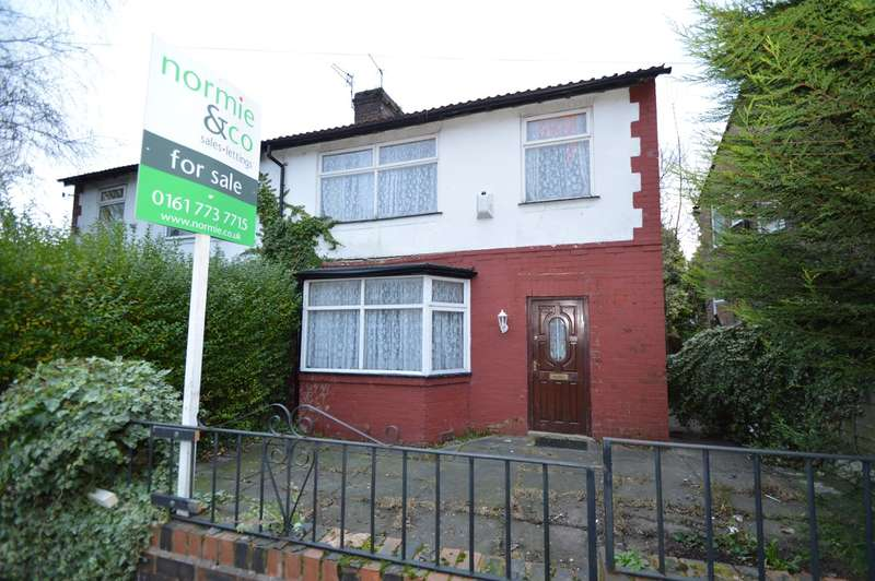3 Bedrooms Semi Detached House for sale in George Street South, Salford, M7