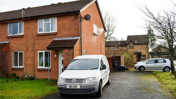 2 Bedrooms Semi Detached House for sale in Fairhaven Close, St Mellons, Cardiff, South Glamorgan