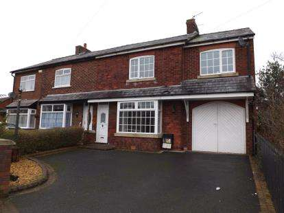 4 Bedrooms Semi Detached House for sale in Chapel Road, Hesketh Bank, Preston, Lancashire, PR4