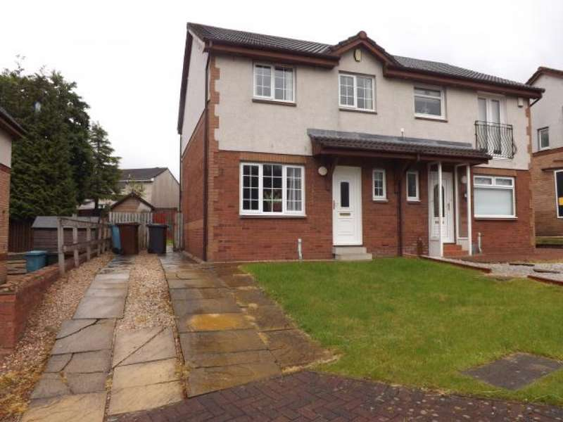 3 Bedrooms Semi Detached House for sale in 4 Easedale Path, Carnbroe, Coatbridge, ML5 4FD