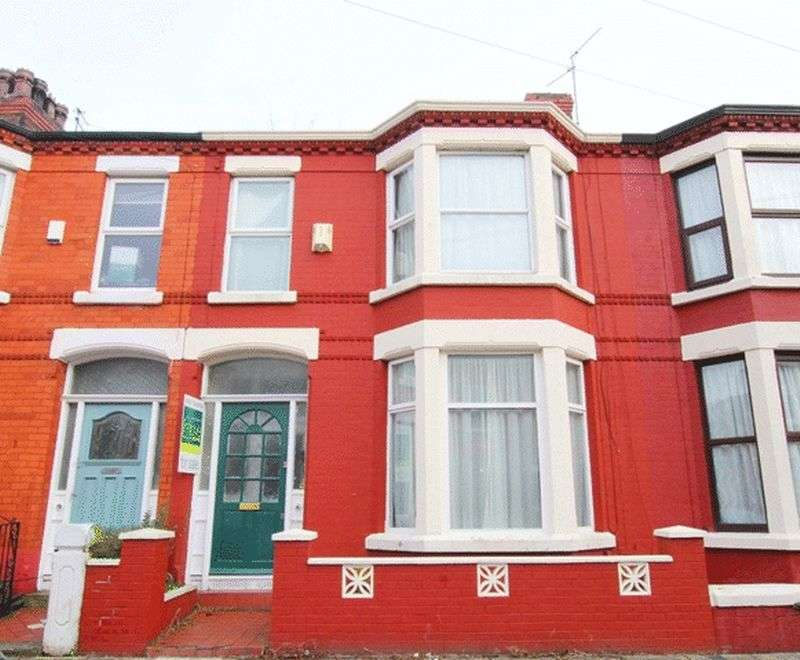 3 Bedrooms Terraced House for sale in Nicander Road, Mossley Hill, Liverpool, L18.
