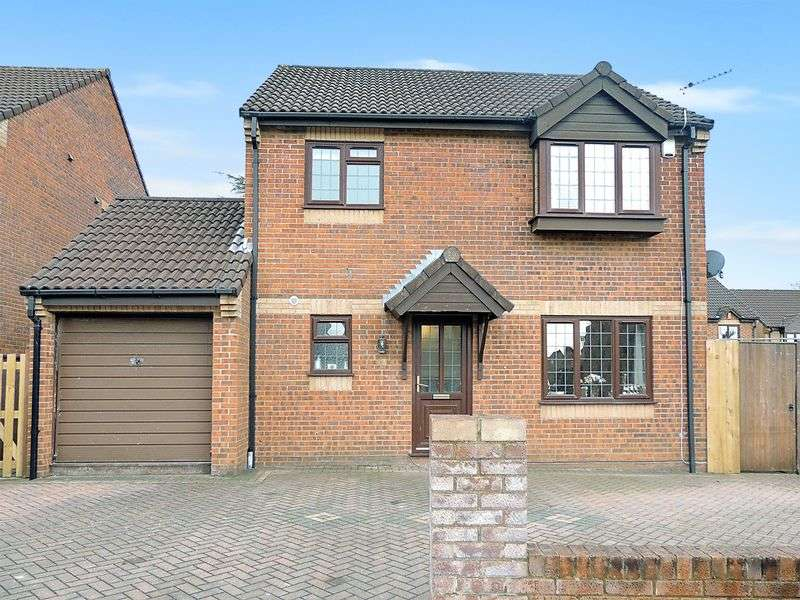 3 Bedrooms Detached House for sale in Howes Close, Barrs Court, Bristol
