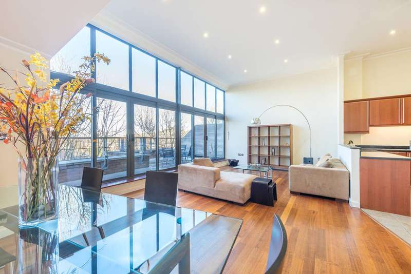 2 Bedrooms Flat for sale in Goldhawk Road, Stamford Brook, W6
