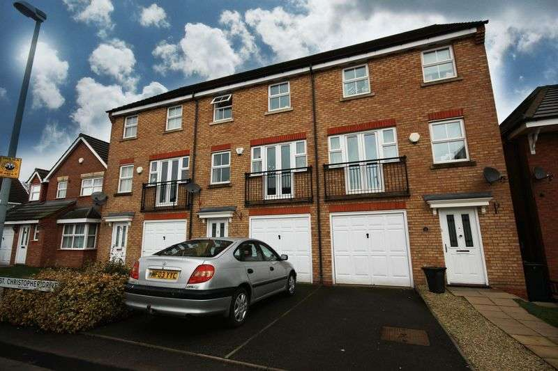 4 Bedrooms Terraced House for sale in St. Christopher Drive, Wednesbury