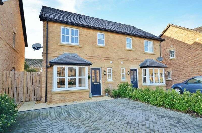3 Bedrooms Semi Detached House for sale in Whins Close, High Harrington, Workington