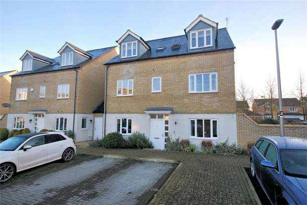3 Bedrooms Semi Detached House for sale in Felsted, Caldecotte, Milton Keynes, Buckinghamshire