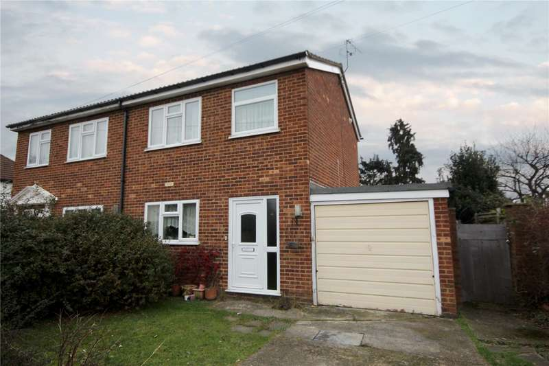 2 Bedrooms Semi Detached House for sale in Sandells Avenue, Ashford, Surrey, TW15
