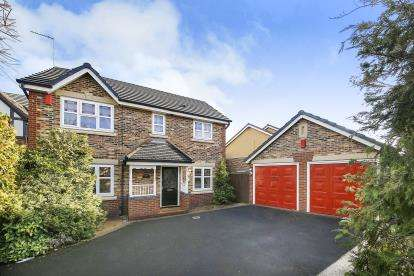 4 Bedrooms Detached House for sale in Rosewood Drive, Winsford, Cheshire, England, CW7