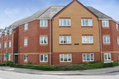 2 Bedrooms Flat for sale in Atholl Court, Heath End Road, Nuneaton, Warwickshire