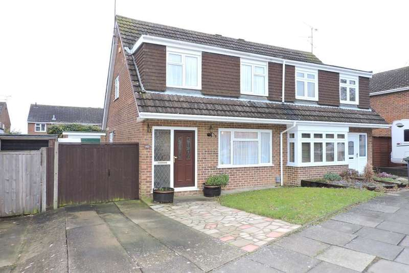 3 Bedrooms Semi Detached House for sale in Ringwood Road, Luton, Bedfordshire, LU2 7BG