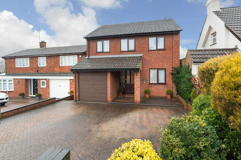 4 Bedrooms Detached House for sale in Newell Road, Hemel Hempstead