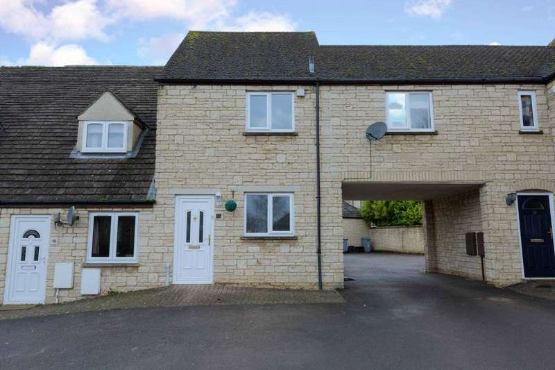 3 Bedrooms Terraced House for sale in Barrington Close, Witney