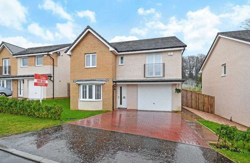 4 Bedrooms Detached House for sale in Papstone Place, Kilsyth