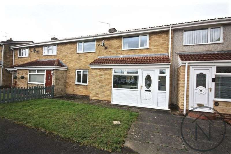 2 Bedrooms Terraced House for sale in Washington Crescent, Newton Aycliffe
