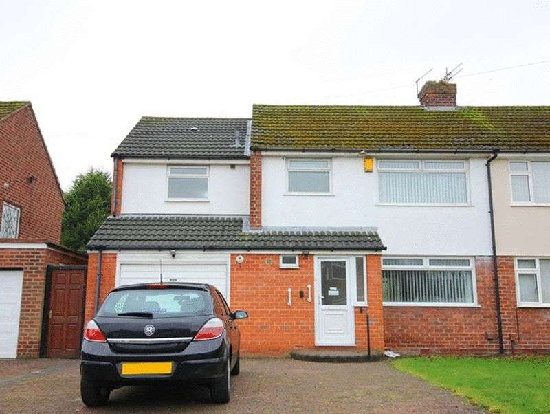 4 Bedrooms Semi Detached House for sale in Hayles Green, Gateacre, Liverpool, L25