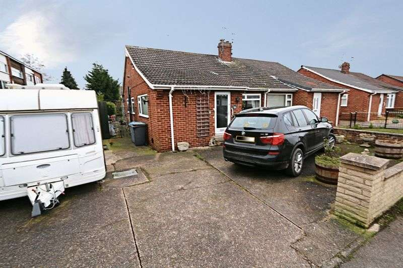 2 Bedrooms Semi Detached Bungalow for sale in Keel Road, Hull