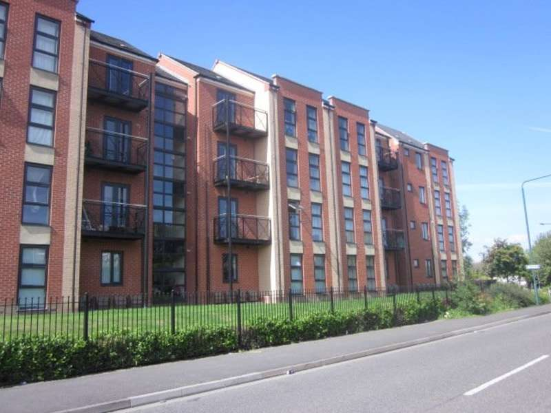 2 Bedrooms Ground Flat for sale in Templars Court, Radford