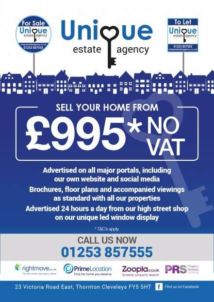 2 Bedrooms Terraced House for sale in North Street, Fleetwood, FY7