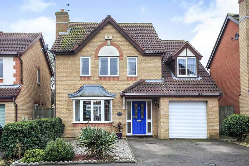 4 Bedrooms Detached House for sale in Lornas Field, Hampton Hargate, Peterborough, PE7