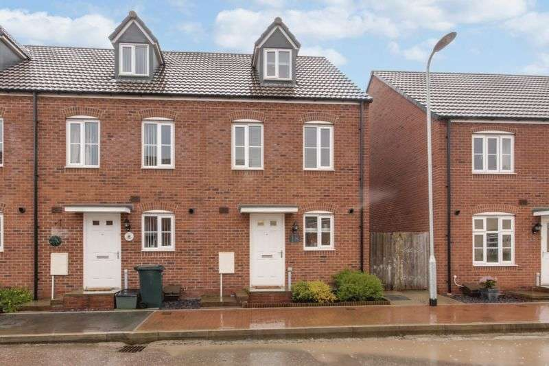 3 Bedrooms Terraced House for sale in Lysaght Way, Newport