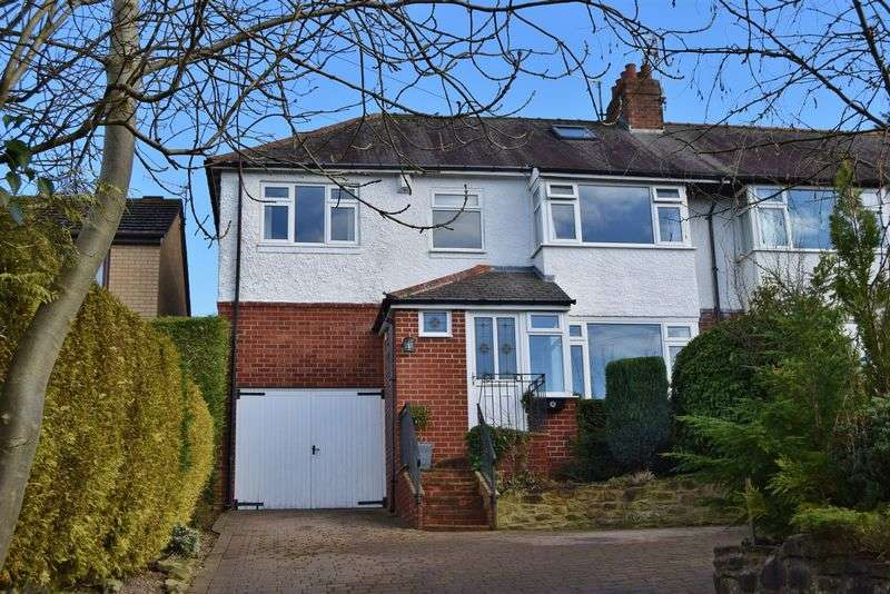 4 Bedrooms Semi Detached House for sale in New Ridley Road, Stocksfield