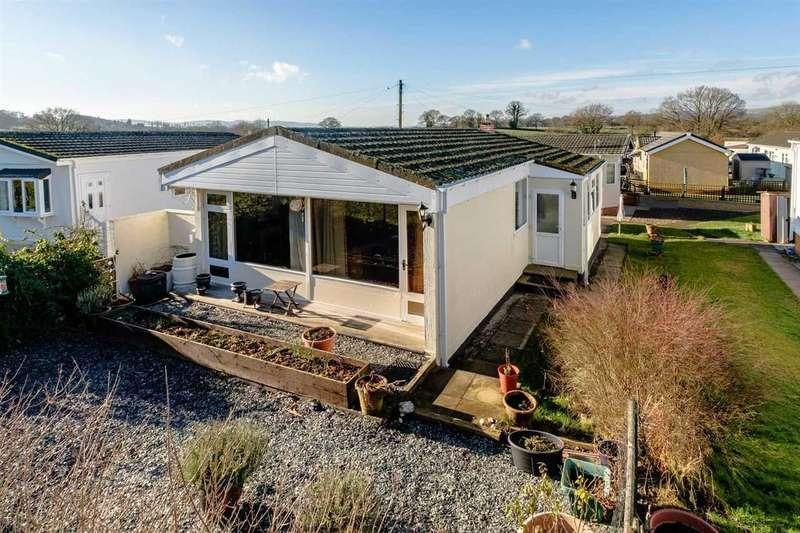 2 Bedrooms Park Home Mobile Home for sale in Sunny Haven, Howey, Llandrindod Wells
