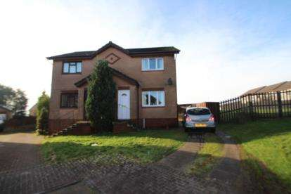 2 Bedrooms Semi Detached House for sale in Kilbowie Place, Airdrie, North Lanarkshire