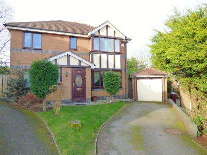 4 Bedrooms Detached House for sale in Old Gates Drive., Feniscowles, Blackburn, Lancashire, BB2