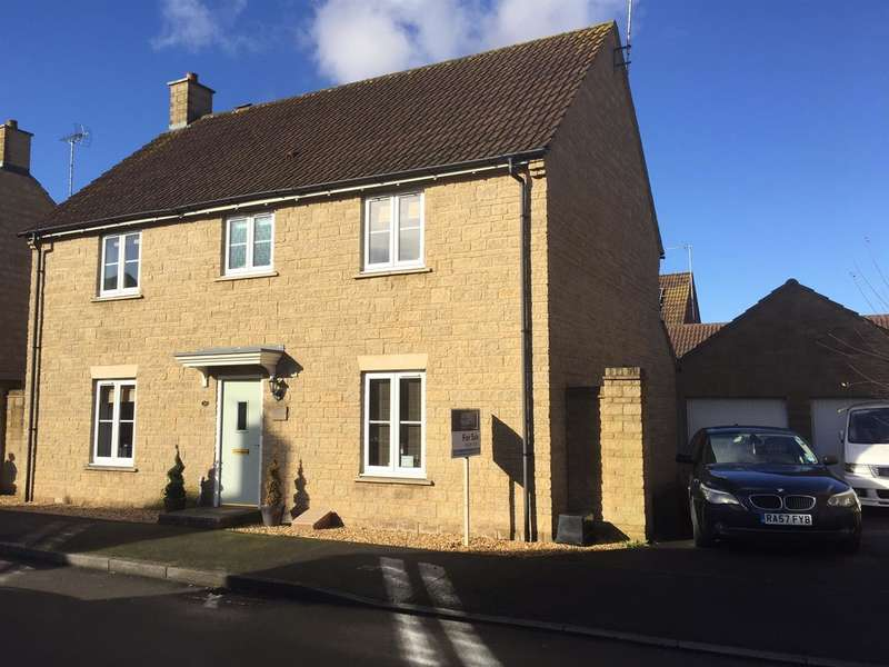 4 Bedrooms Detached House for sale in Stickleback Road, Calne