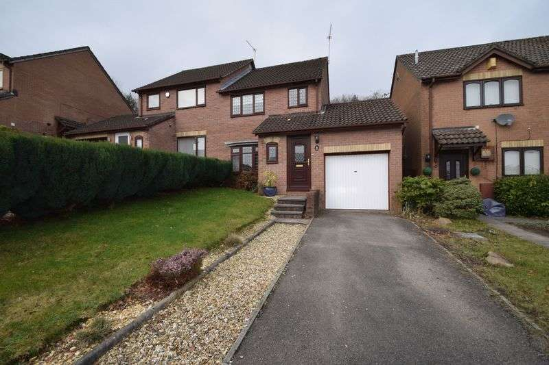 3 Bedrooms Semi Detached House for sale in Heather Court, Cwmbran