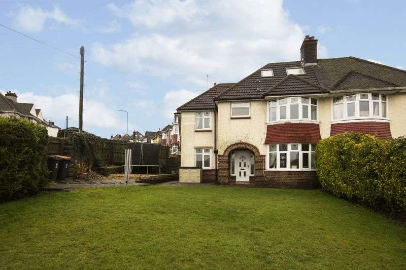 4 Bedrooms Semi Detached House for sale in Beaufort Road, Newport