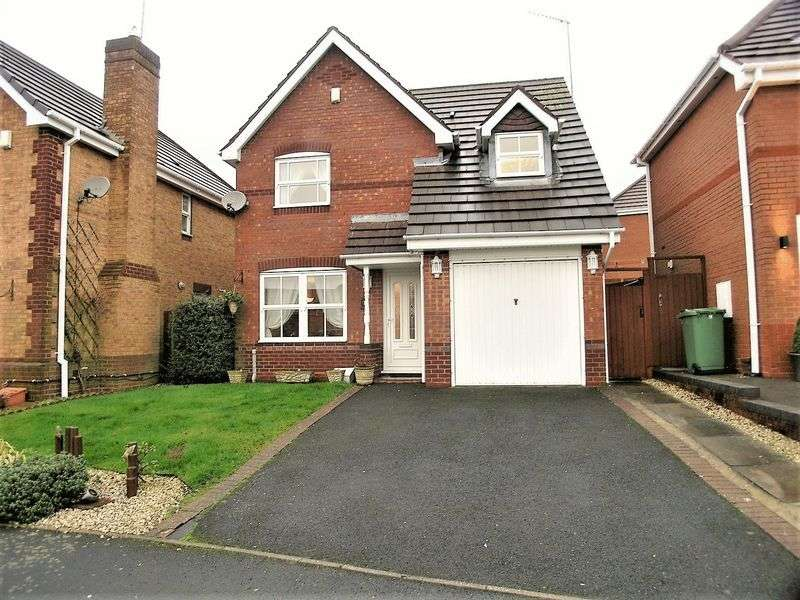 3 Bedrooms Detached House for sale in Mansion Close, Dudley
