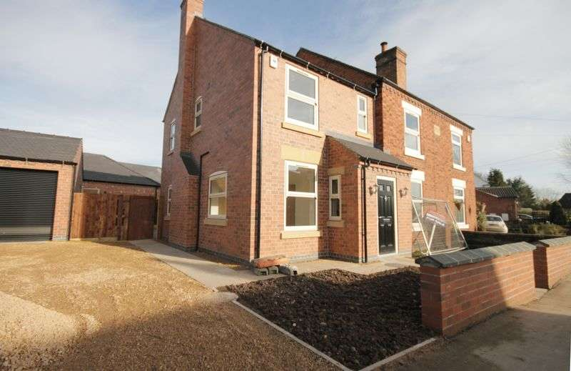 4 Bedrooms Semi Detached House for sale in EGGINTON ROAD, HILTON