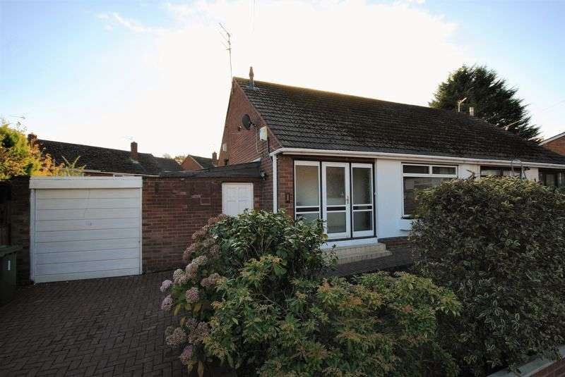 2 Bedrooms Semi Detached Bungalow for sale in Sunnybank, Upton
