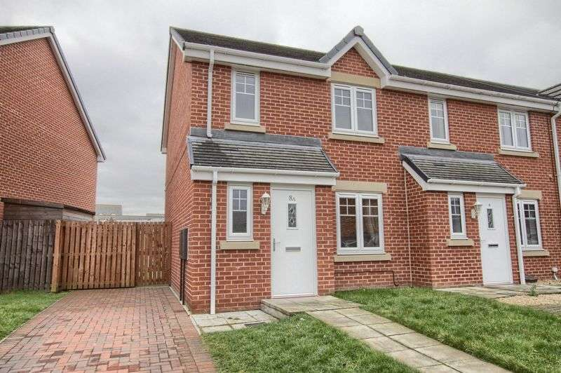 3 Bedrooms Semi Detached House for sale in Harris Court, Thornaby