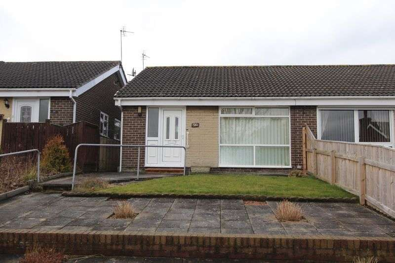 2 Bedrooms Semi Detached Bungalow for sale in Southwold Gardens, Silksworth, Sunderland