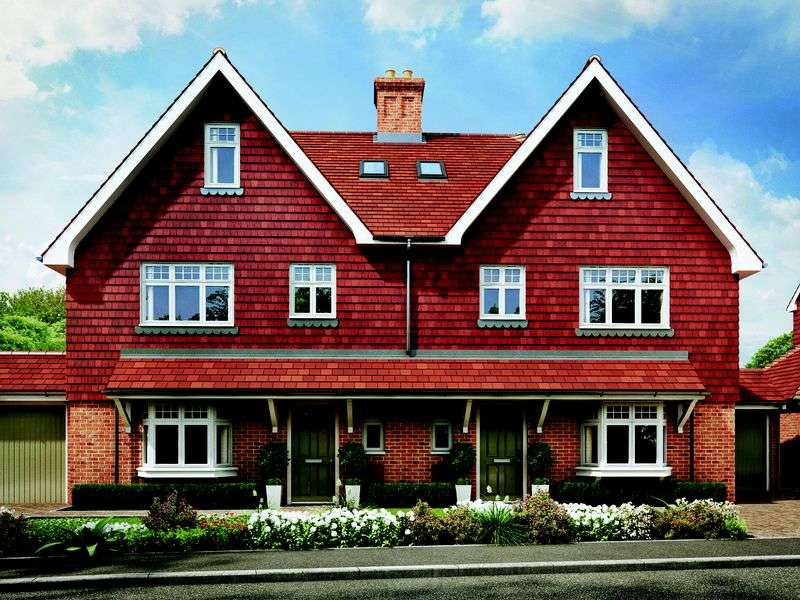 4 Bedrooms Semi Detached House for sale in The Hadlow, Mayfield Place, Love Lane, Mayfield
