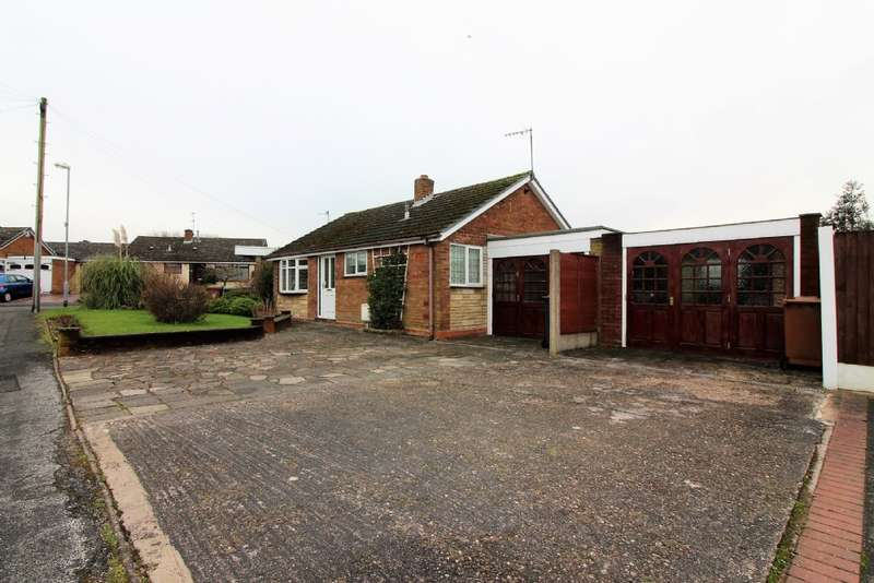 2 Bedrooms Detached Bungalow for sale in Allens Close, The Hayes