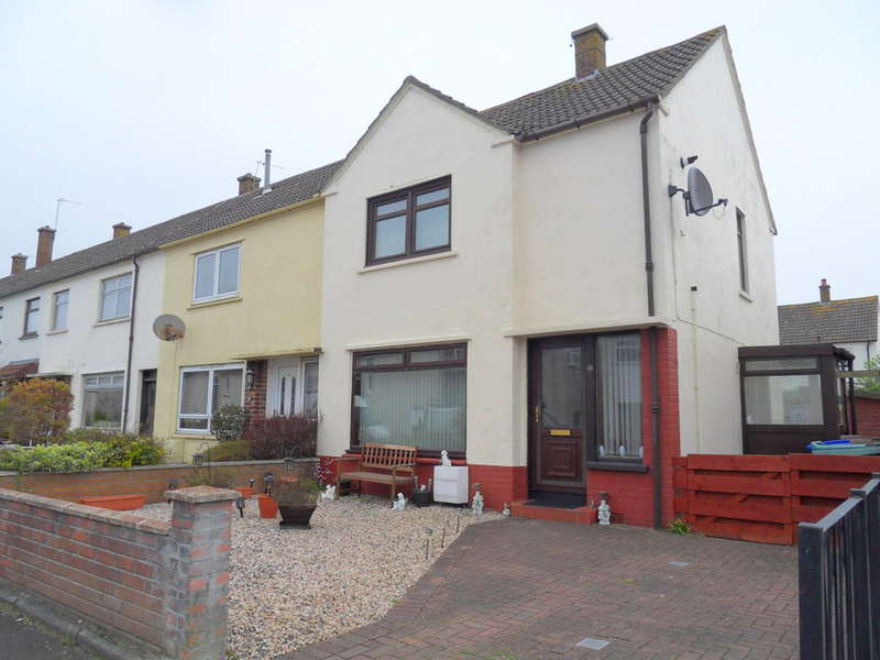 2 Bedrooms End Of Terrace House for sale in Carnell Terrace, Prestwick, KA9