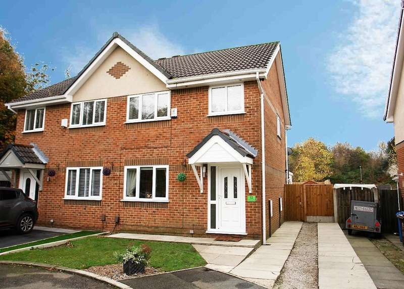 3 Bedrooms Semi Detached House for sale in 12 Watlington Close, Moorside