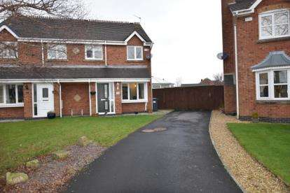 3 Bedrooms Semi Detached House for sale in Rye Gardens, Oakdale, Blackburn, Lancashire