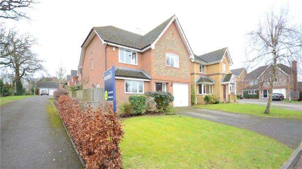 4 Bedrooms Detached House for sale in Sevenoaks Drive, Spencers Wood, Reading