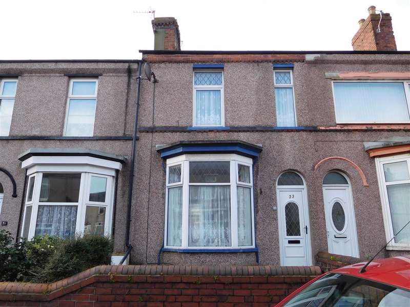 3 Bedrooms Terraced House for sale in Shakespeare Street, BARROW-IN-FURNESS