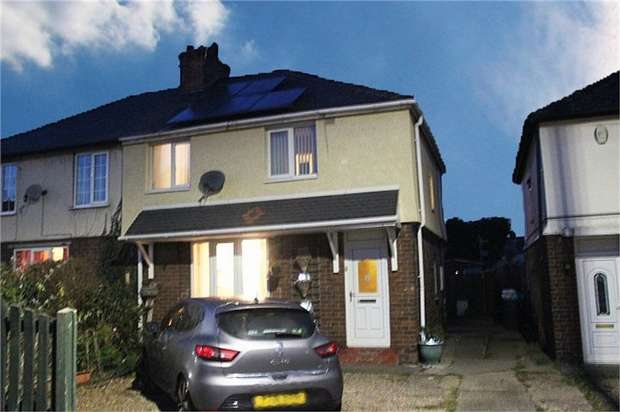 3 Bedrooms Semi Detached House for sale in Cemetery Road, Woodlands, Doncaster, South Yorkshire