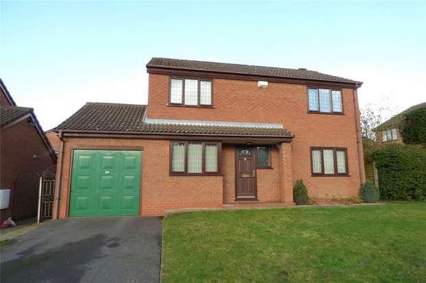 4 Bedrooms Detached House for sale in Hayle Close, Horeston Grange, Nuneaton, Warwickshire