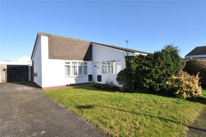 2 Bedrooms Detached Bungalow for sale in Allangate Close, Greasby, Wirral