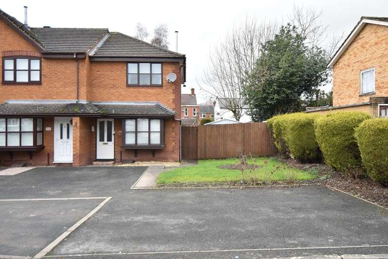 2 Bedrooms End Of Terrace House for sale in Crabtree Drive, Bromsgrove