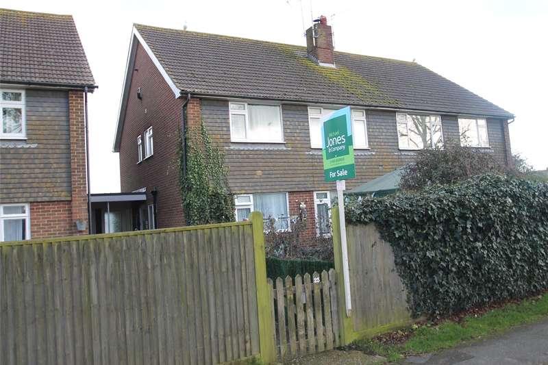 2 Bedrooms Apartment Flat for sale in Old Manor Road, Rustington, Littlehampton, BN16